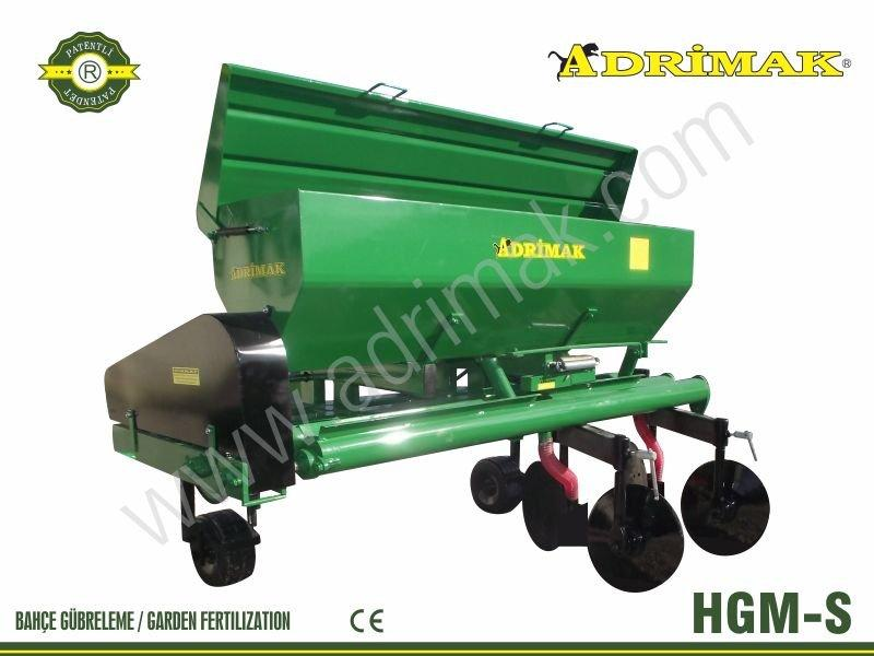 Right Exit Fertilizer Machine with Spiral (HGM-S)