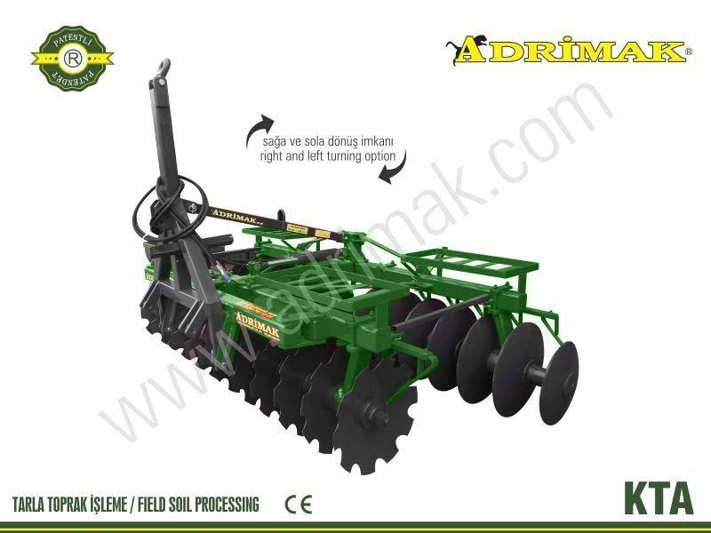 Heavy X Type Towed Hanger Disc Harrow (KTA)