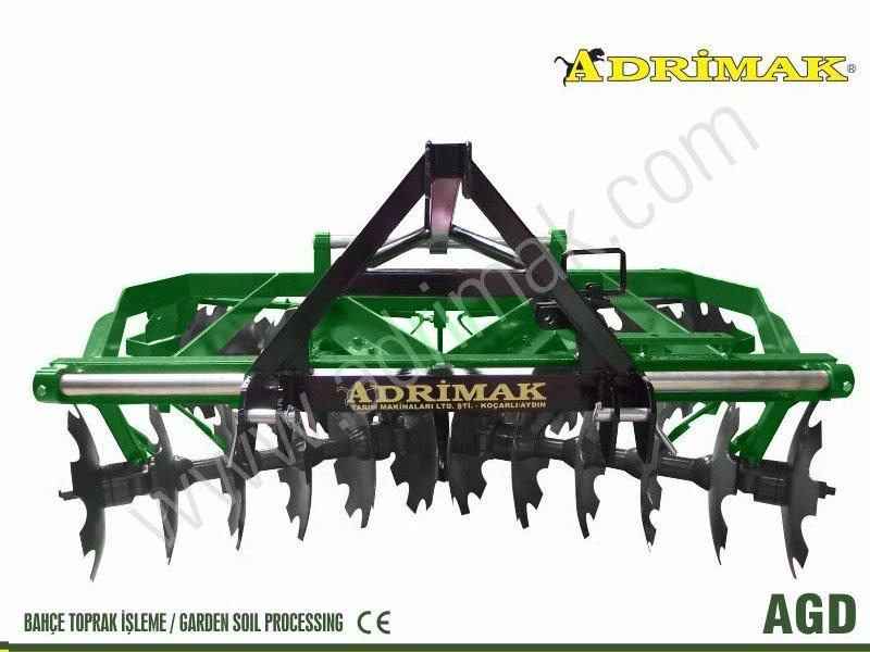 Light X Type Angles Fixed Angle-Hanging Disc Harrow (AGD)